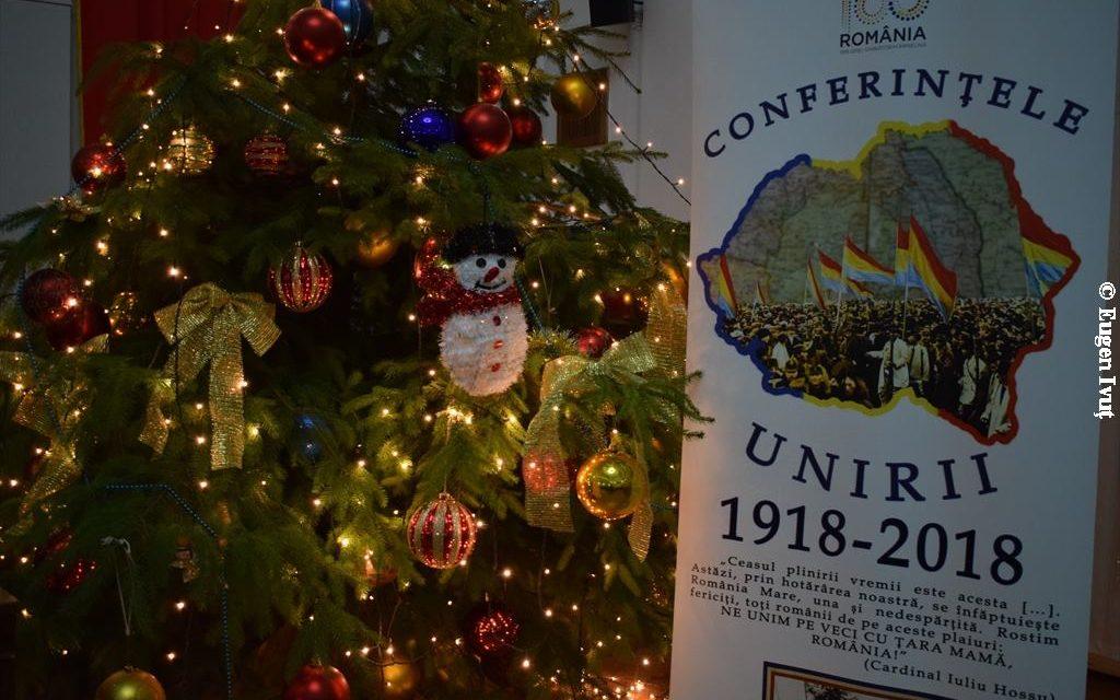 """""""Conferințele Uniriiˮ, o inițiativă reușită în an Centenar"""