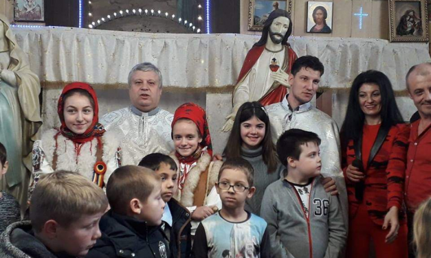 Serbarea de Crăciun din Parohia Sititelec