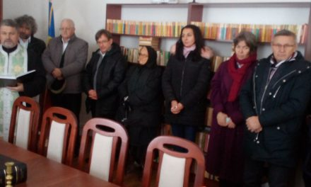 """Inaugurarea Bibliotecii Centrului """"Episcop Iuliu Hirțea"""" din Vintere"""