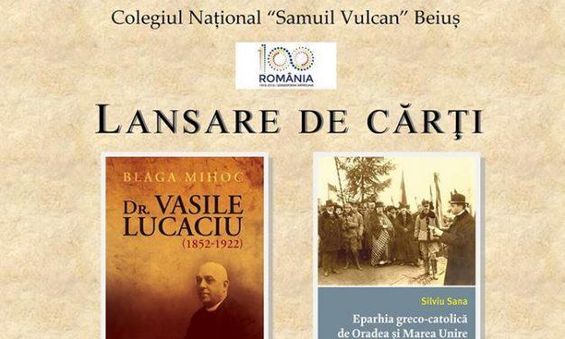 Dublă lansare de carte la Beiuș, final de an Centenar