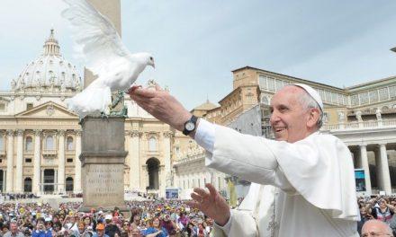 Papa Francisc, Ziua Mondială a Păcii 2019