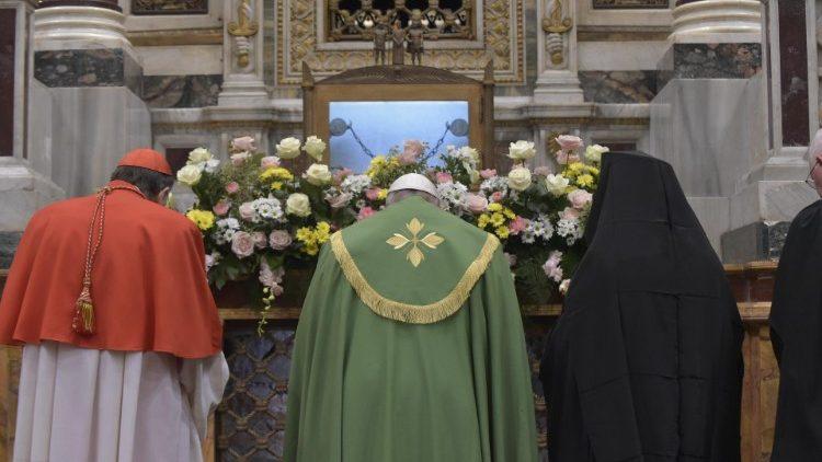 Papa Francisc: să pășim în dreptate spre unitatea creștinilor, «Țara făgăduinței» pentru Biserici