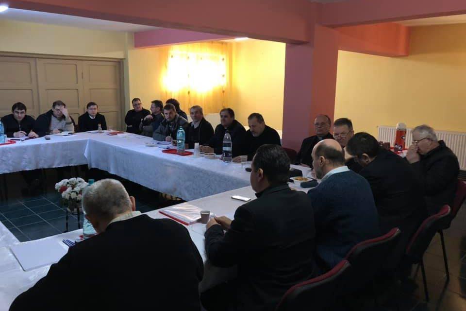 Întâlnirea Vicarului General cu preoții din Șimleu și Zalău