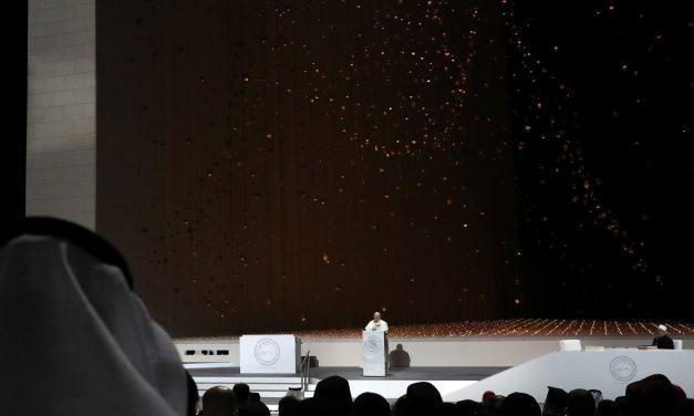 Discursul Papei Francisc la Abu Dhabi, Emiratele Arabe Unite