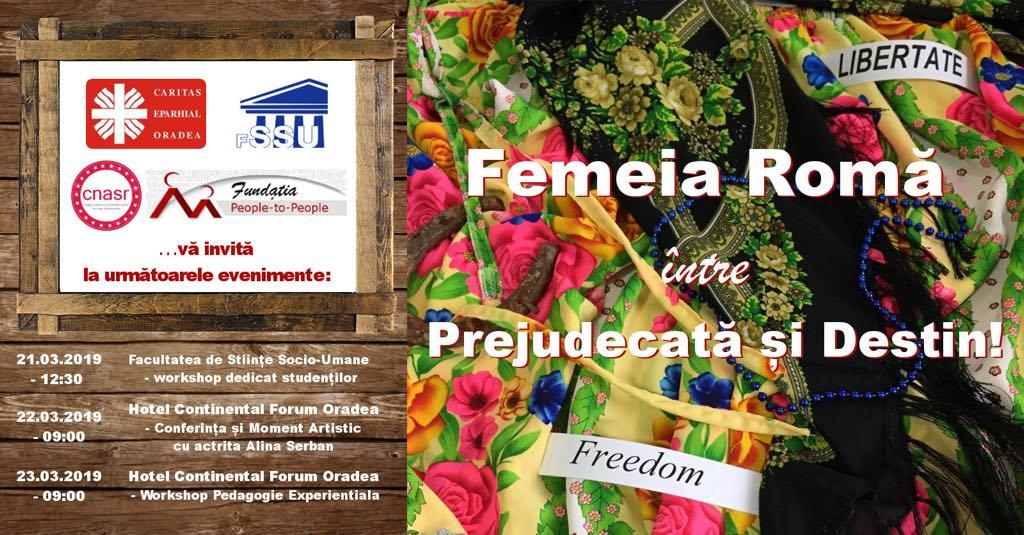 INVITAȚIE: Femeia romă – între prejudecată și destin