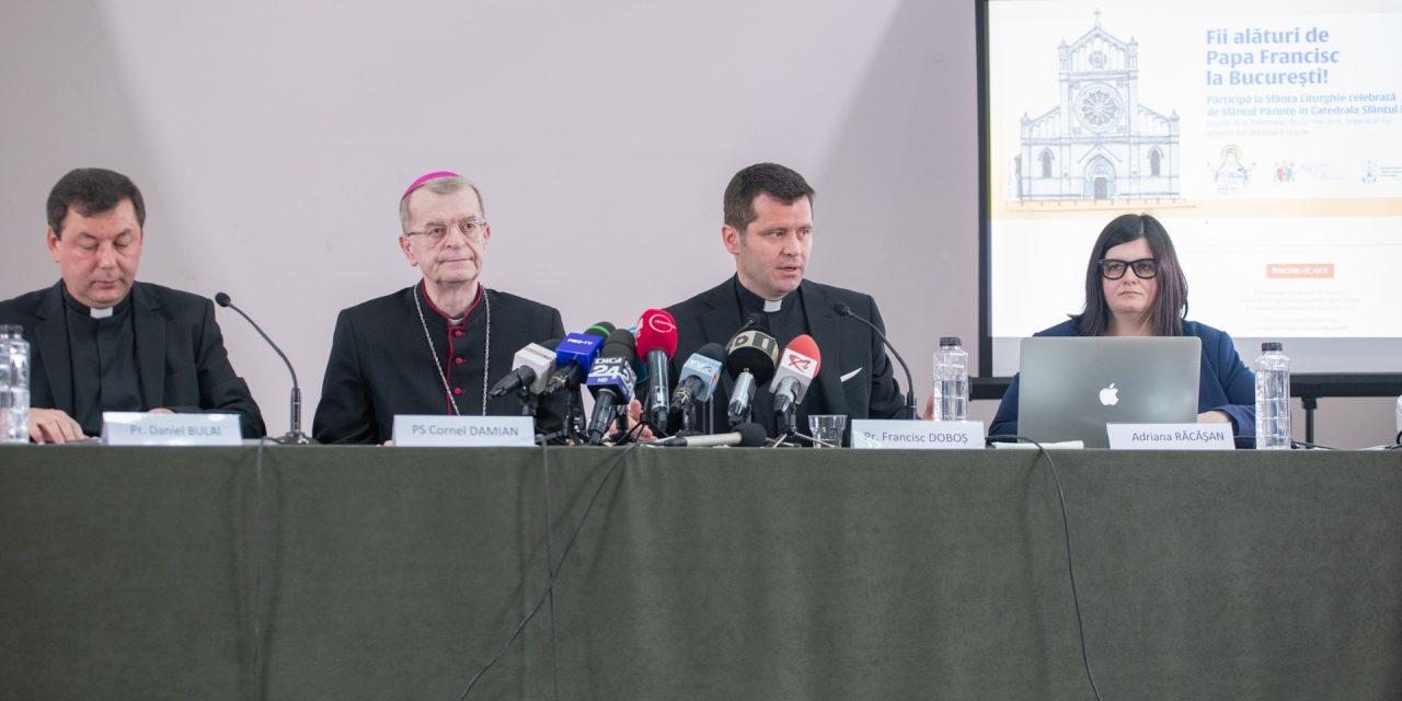 Papa Francisc la Catedrala Sfântul Iosif, lansarea platformei online de înscrieri
