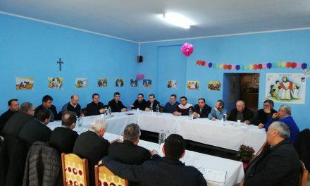 Întâlnirea Vicarului General cu preoții din Beiuș și Holod