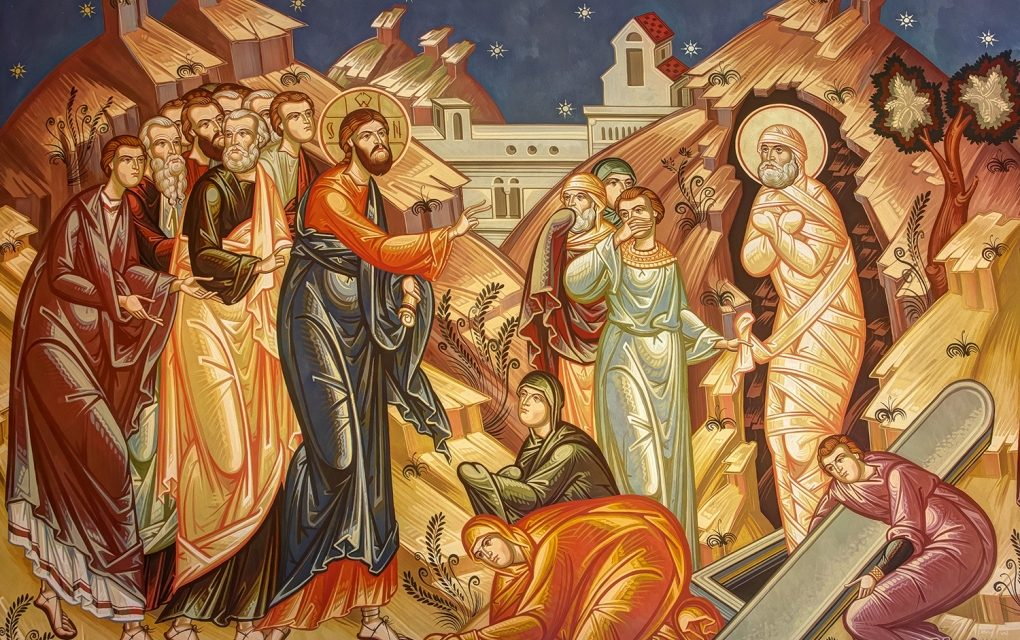 SÂMBĂTĂ ÎN SĂPTĂMÂNA A VI-A DIN POSTUL MARE – In 11, 1-45