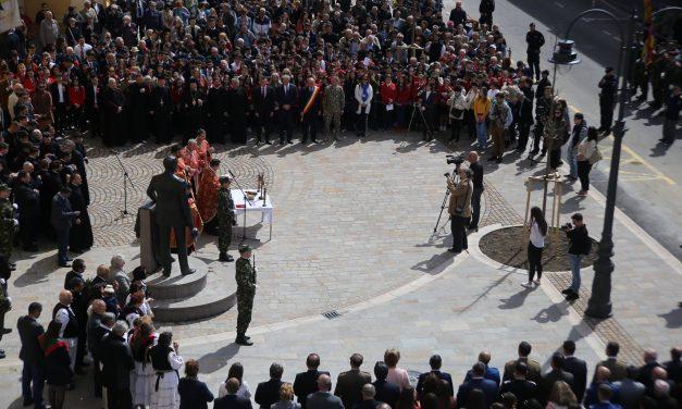 Dezvelirea și sfințirea statuii lui Iuliu Maniu, în Oradea