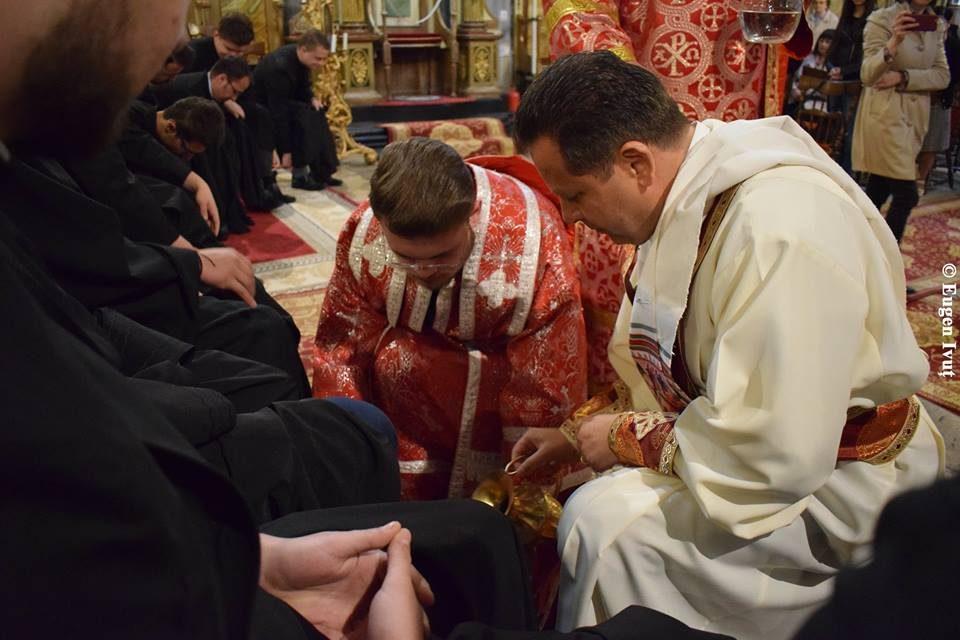 Joia Mare 2019 – Instituirea Euhariestiei și Slujba spălării picioarelor
