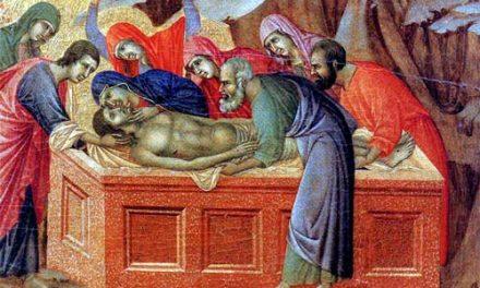 MIERCURI ÎN SĂPTĂMÂNA A V-A DIN POSTUL MARE – Mc 15, 43-47