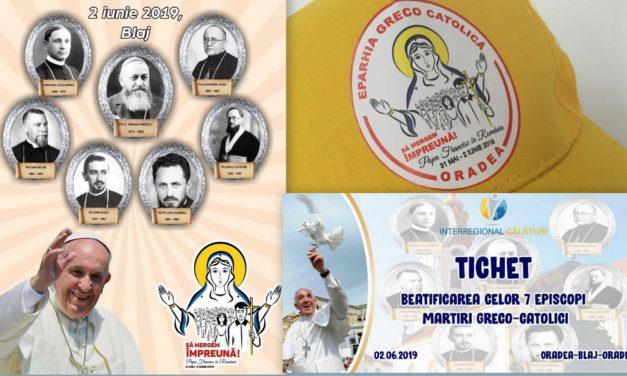 Credincioșii Eparhiei de Oradea merg împreună cu Papa Francisc la Blaj