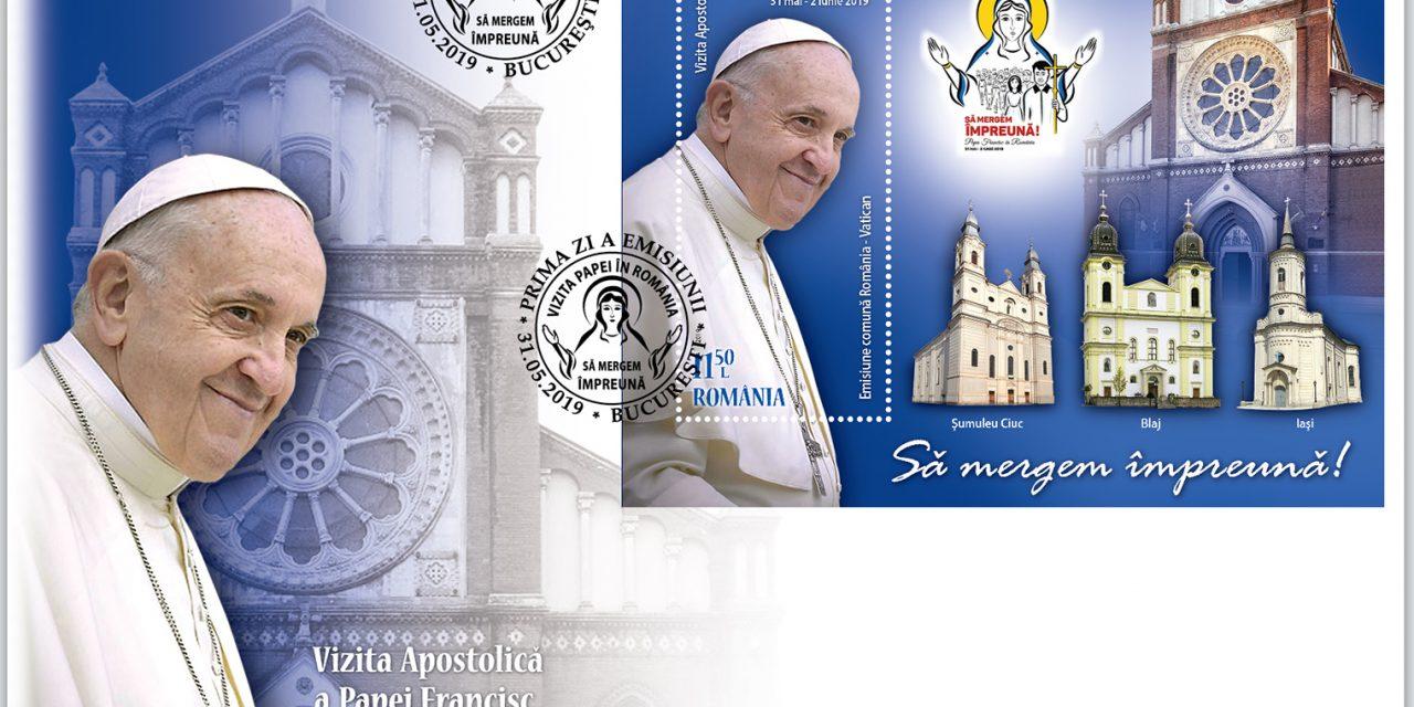 Vizita Papei Francisc în România: emisiune comună România-Vatican 2019