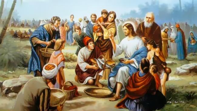 MIERCURI ÎN SĂPTĂMÂNA A VI-A DUPĂ PAȘTI – Io 6, 5-14