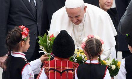 Papa Francisc, călătoria apostolică în Bulgaria