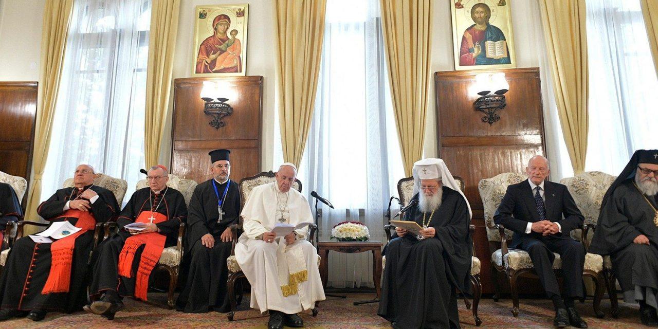 Întâlnirea Papei Francisc cu Patriarhul Neofit și Sf. Sinod al Bisericii Ortodoxe Bulgare