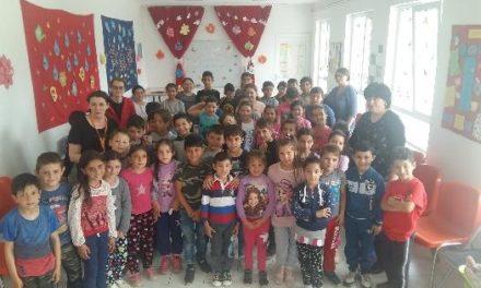 Centrul de zi din Ioaniș: bucuria prin ochii copiilor