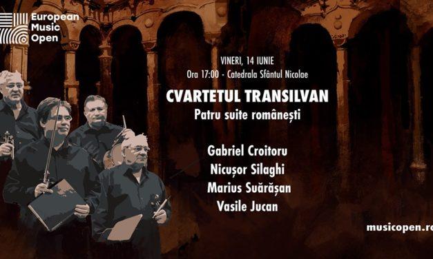 """Concert """"Cvartetul Transilvan"""" în Catedrala """"Sfântul Nicolae"""" din Oradea, 14 iunie 2019"""