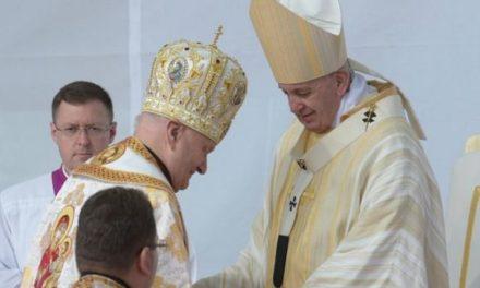 Mesajul PF Cardinal Lucian Mureșan adresat Papei Francisc