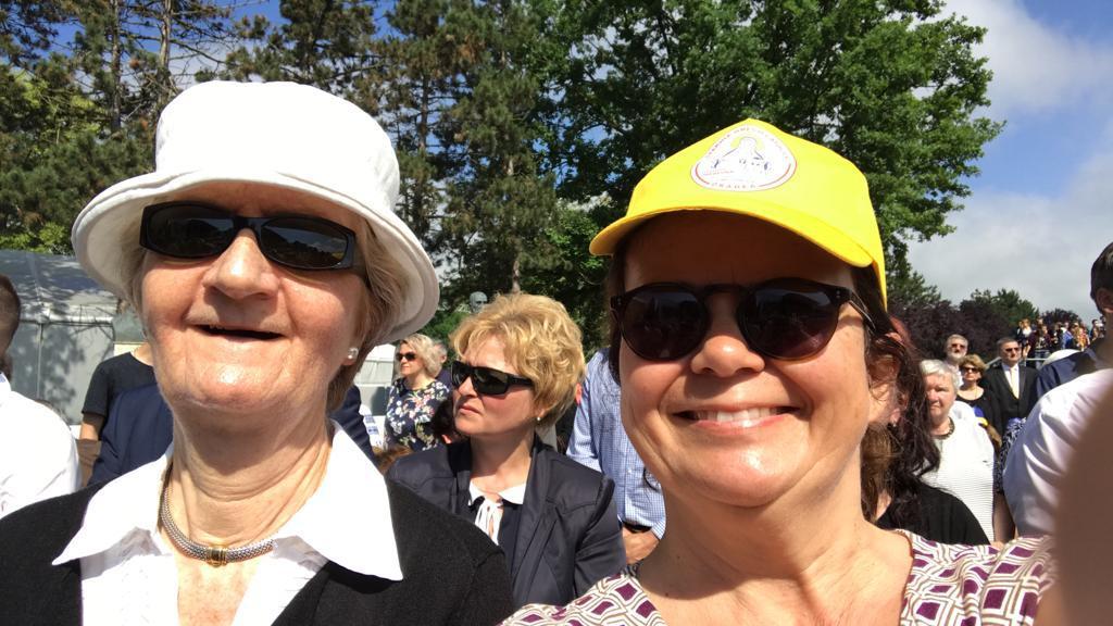 Oaspeți din Franța veniți pentru vizita Papei Francisc la Blaj