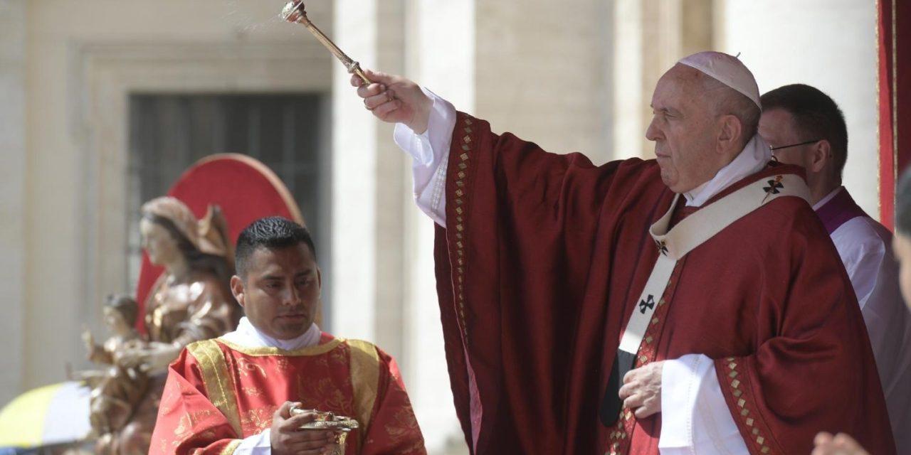Papa Francisc de sărbătoarea Rusaliilor 2019