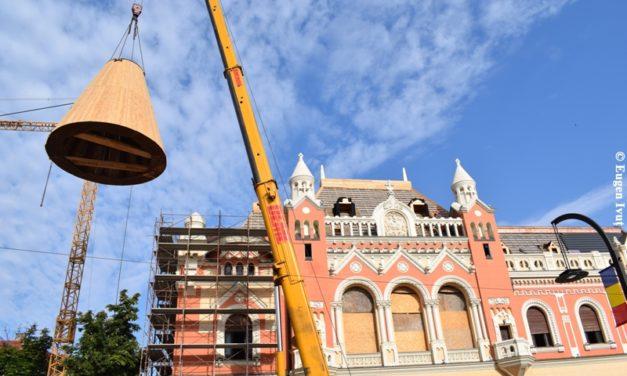 Turnul Palatului Episcopal, reamplasat azi