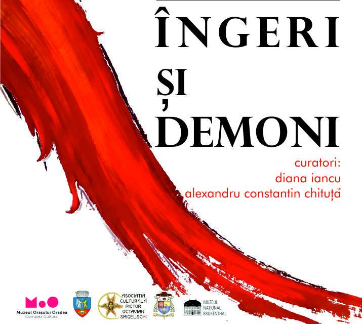 """Expoziția """"Îngeri și demoni"""" a sibianului Ioan Muntean, la Oradea"""