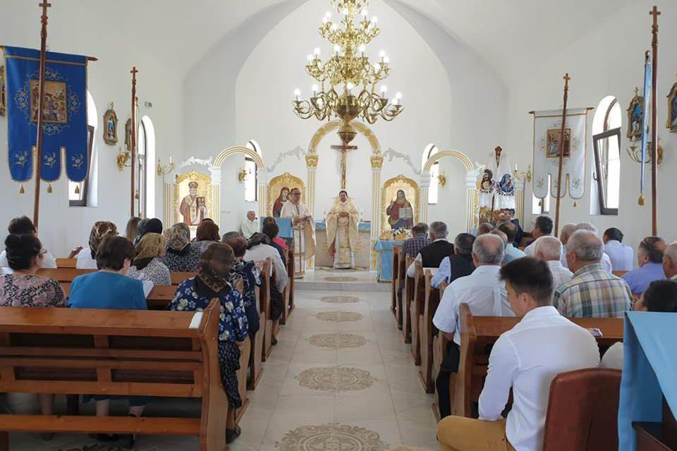 Hramul parohiei greco-catolice din Valcău de Sus
