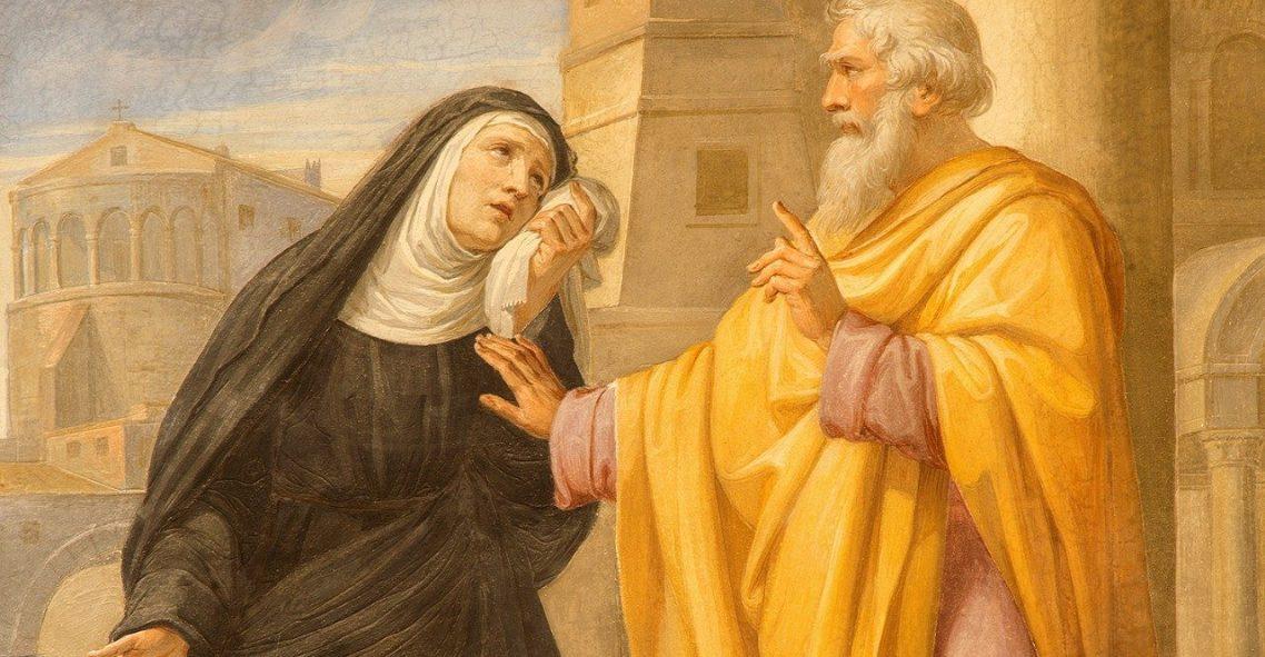 Sf. Monica, icoană a Bisericii lui Dumnezeu