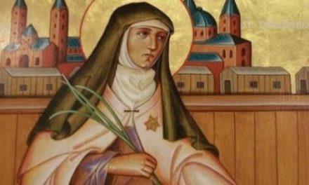 Sfânta Benedicta a Crucii (1891-1942), ocrotitoare a Europei: seninătatea și curajul martiriului