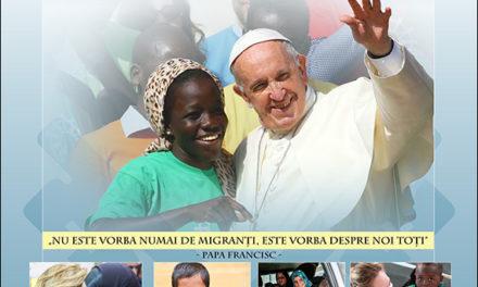Ziua Mondială a Migrantului şi Refugiatului – 29 septembrie 2019