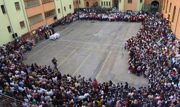 """Deschiderea anului școlar 2019-2020 la Liceul """"Iuliu Maniu"""" din Oradea"""