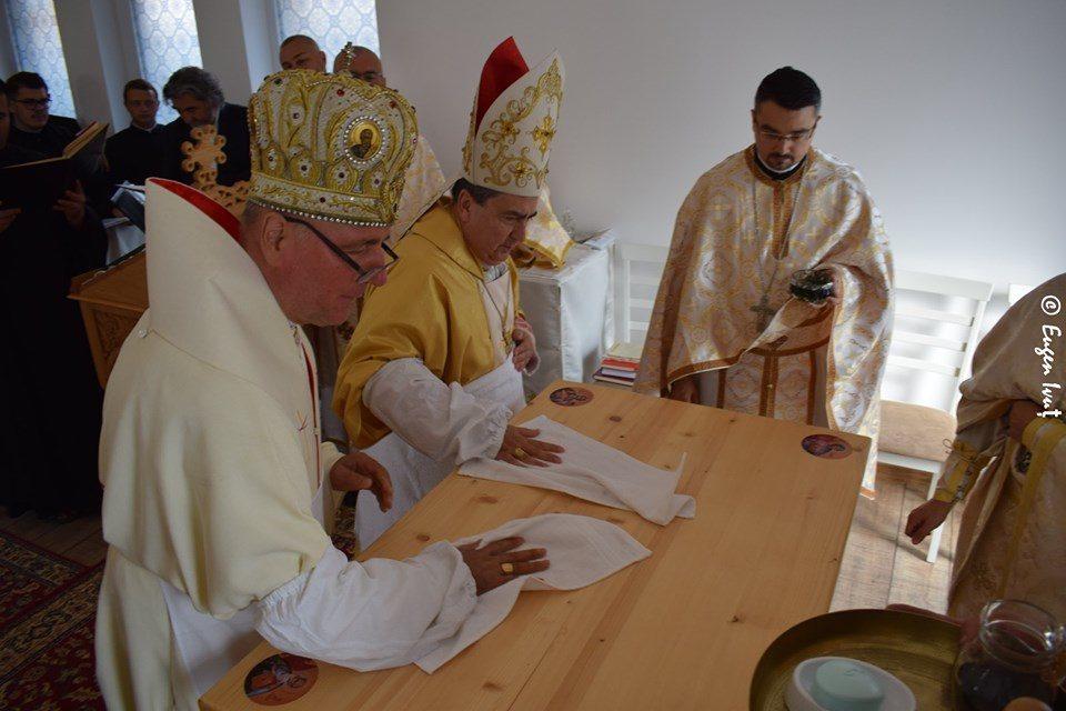 """Sfințirea Capelei """"Sf. Dumitru"""" din Oradea"""