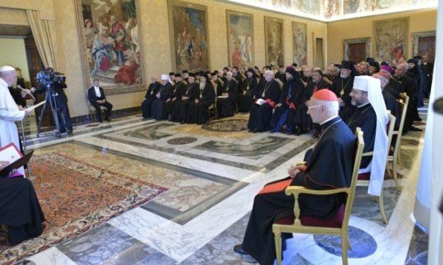 Discursul Papei către Episcopii răsăriteni din Europa