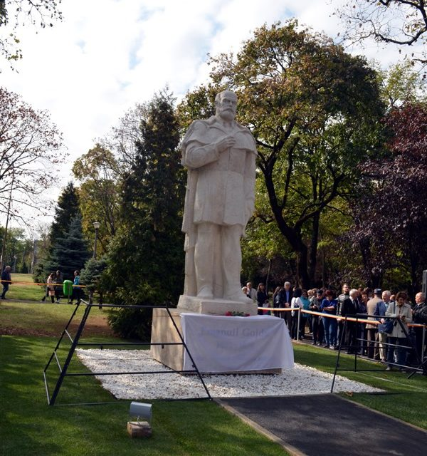 Statuia lui Emanuil Gojdu, reinaugurată