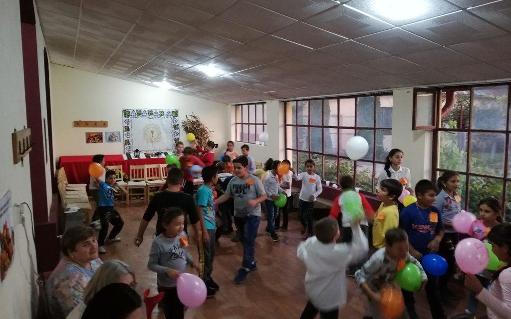 """Balul Recoltei la Oratoriul """"Colț de Rai"""" din Beiuș"""