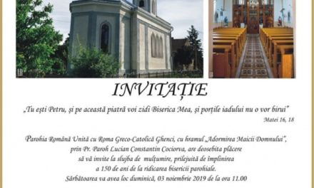 Invitație la Ghenci