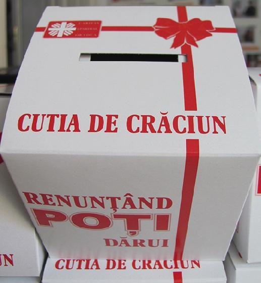 Ia şi tu Cutia de Crăciun