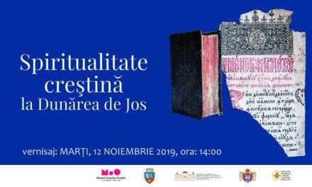 Vernisaj Expoziția Spiritualitate creștină la Dunărea de Jos