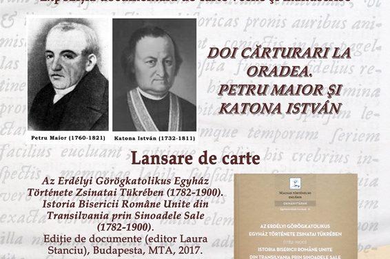 Invitație: Expoziţie documentară de carte veche şi manuscrise
