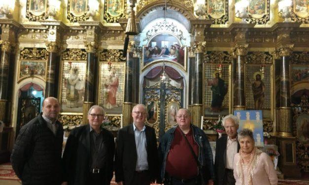 Vizita de lucru a prelatului dr. Josef Weismayer și a monseniorului mag. Franz Schuster de la Arhiepiscopia Romano-Catolică de Viena, Austria