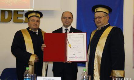 Istoricul Ioan Bolovan – Doctor Honoris Causa al Universității din Oradea