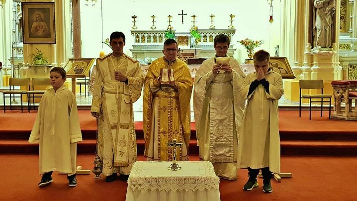 Vizitatorul Apostolic pentru greco-catolicii din diaspora europeană la Dublin