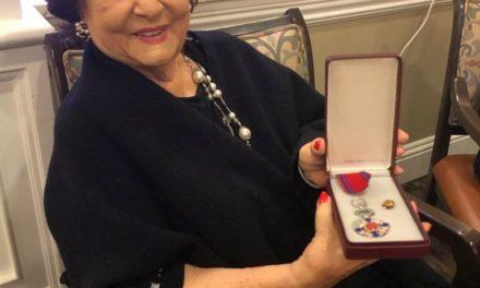 Steaua României pentru doamna Virginia Zeani