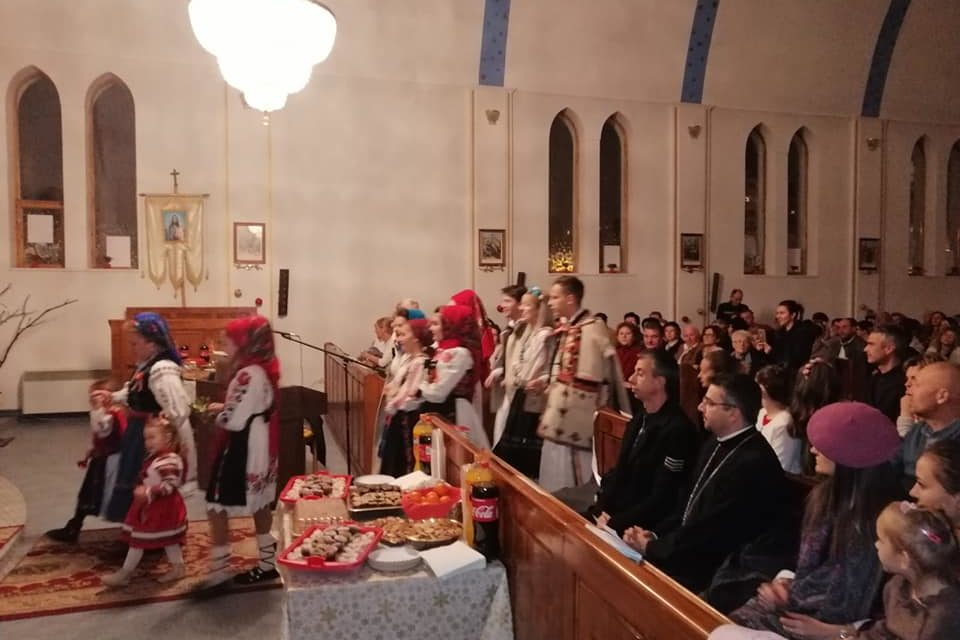 Seară de colinde la Biserica Greco Catolică Sfânta Treime