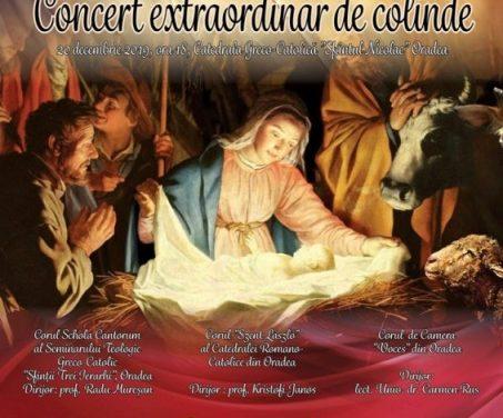 INVITAȚIE la Concertul Extraordinar de Colinde