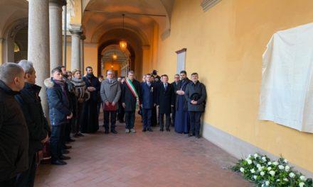 Pavia, Italia: Dezvelirea unei plăci comemorative în cinstea lui Simion Bărnuţiu