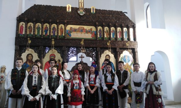 Concert de colinde la Parohia Greco Catolica Horoatu Crasnei