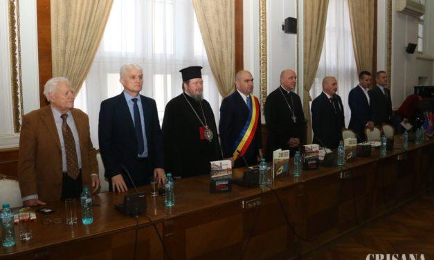 Ședință solemnă la Primăria Oradea – 1989 – prima cărămidă pusă la ce suntem astăzi