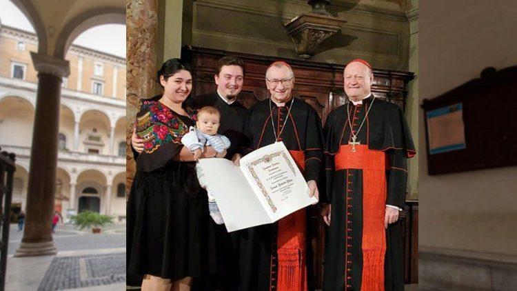Pr. Ionuț-Cătălin Blidar, premiat de papa Francisc cu Premiul Academiilor Pontificale 2019